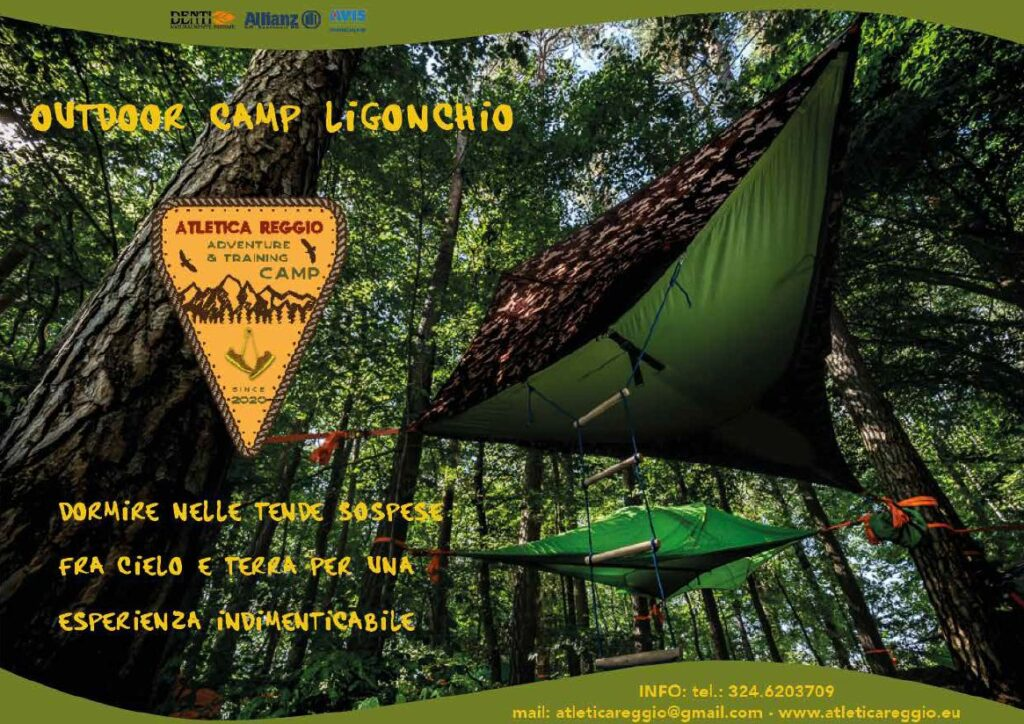 outdoor camp ligonchio atletica reggio