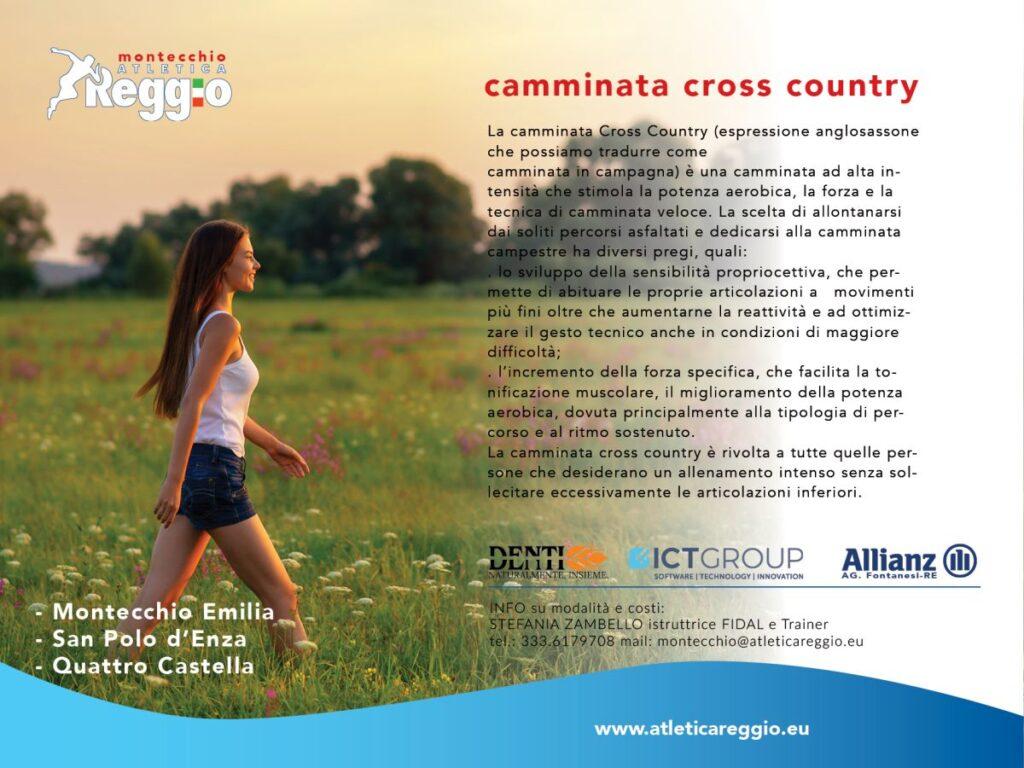 camminata cross country
